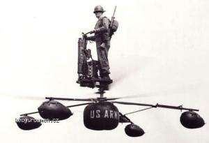 us military aircraft that never quite made it  HZ1 Aerocycle