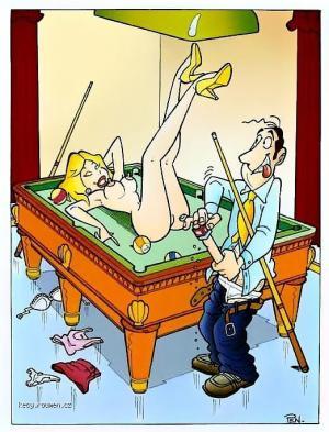 XXX daily joke  billiards