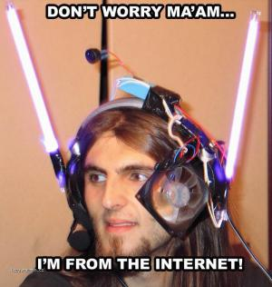 im from the internet