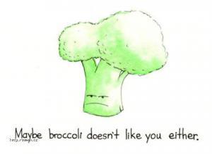 Maybe broccoli