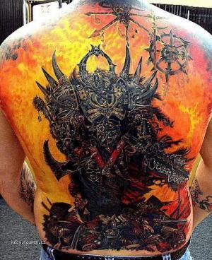 husty tetovani