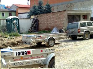 vozejk pro lamy