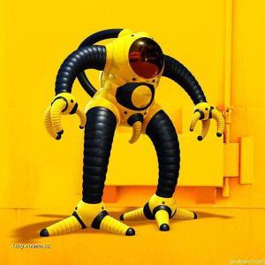 zlutej robot