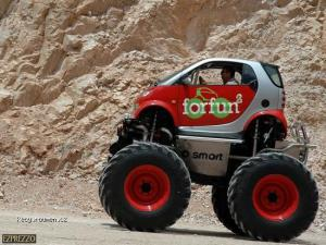 smart monster car5