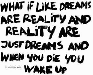 realita a sny