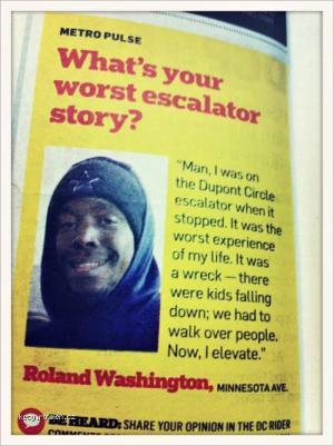 More Like The Best Escalator Story