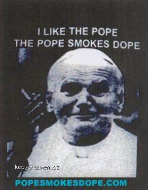 i like the pope