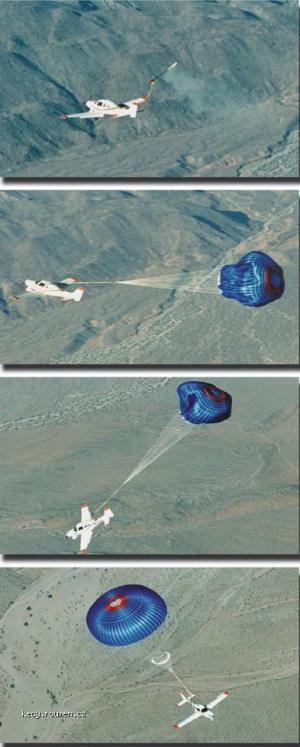 letadlo s padakem