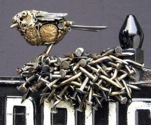 Metal Junk to Artistic Sculptures3