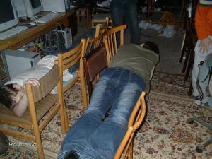 LAN party pohodlie