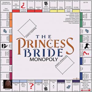 The Princess Bride Monopoly Board