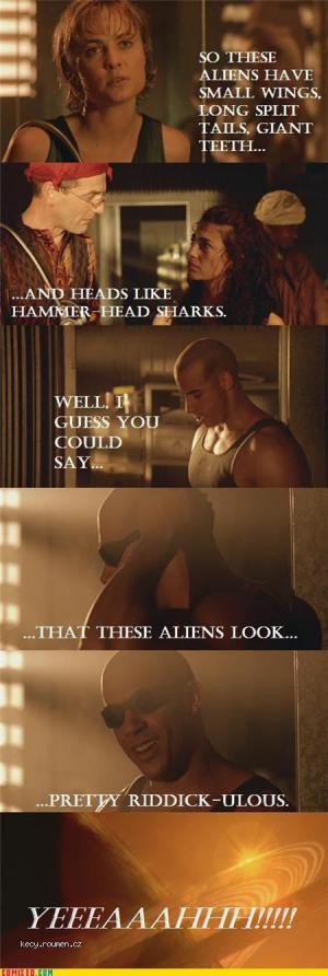 aliens riddick