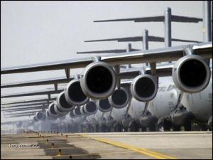 moc letadel