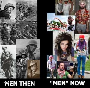 mne then  men now