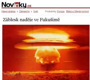 Zablesk nadeje ve Fukusime