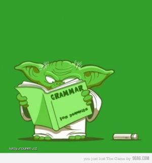 grammar yoda