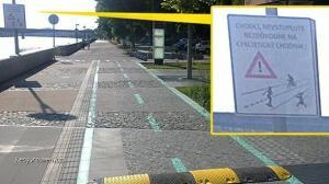 Meanwhile in Bratislava  retarder pre cyklistov
