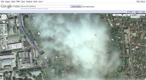 google maps sky fail