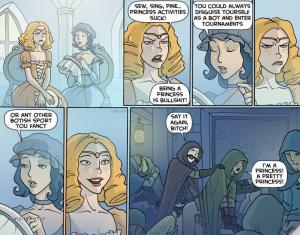 Jak se bavi princezny