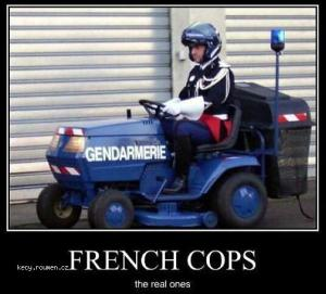 X French Cops