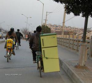 Fahrradtransporteinseitig