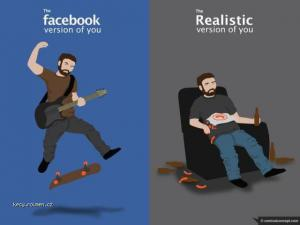 real facebook