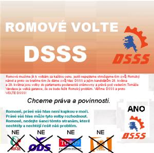 Romove volte CSSD parodie