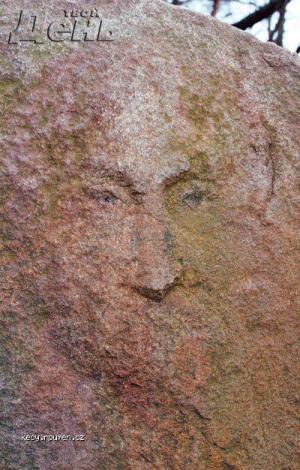 jesus oblicej na kameni