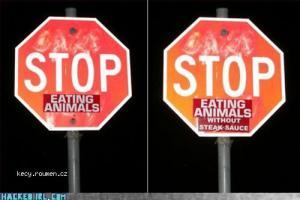 stop eatin 5C 27 animals