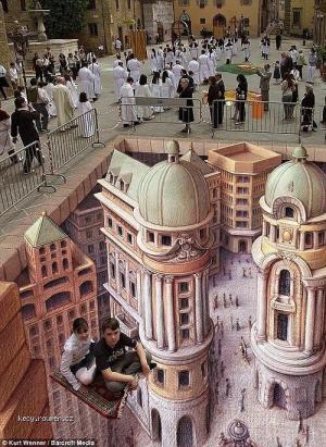 3D Artist Aproach the World2