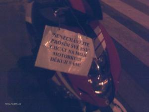 pochcana motorka