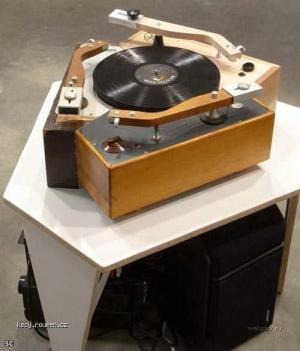 trio gramofon