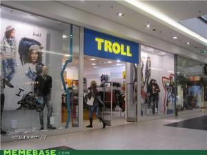 Where trolls shop