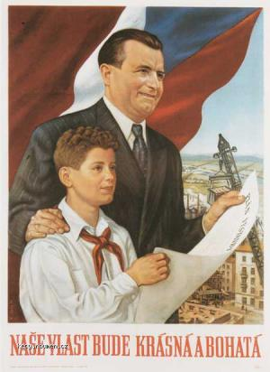 komunisticky plakat 2