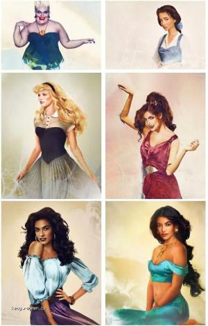 X Realistic Disney Characters