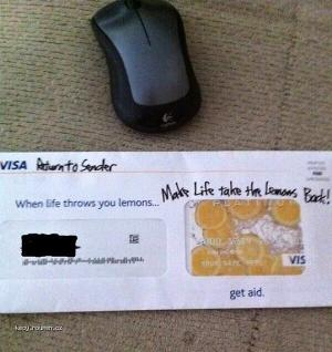 How cave johnson returns junk mail