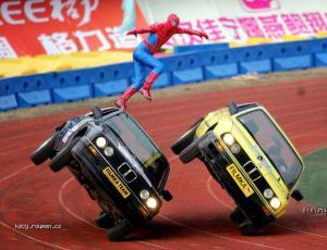 funy spiderman