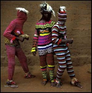 Amazing Ritual Costumes from West Africa4
