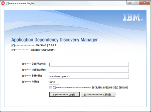 IBM  Application Dependenci Discovery Manager