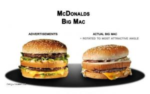 Fast Food Advertising Vs The Truth2