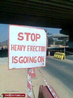 heavy erection