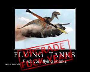 raptor riding flyingtank
