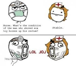 patient stable