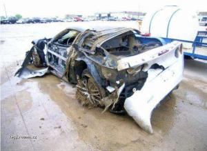 Corvette ZR1 after tornado 3