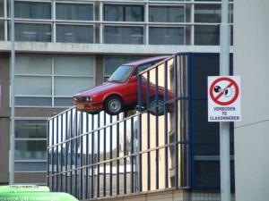 parkovani mu nedela potize