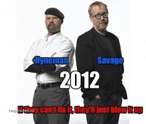 Mythbusters For 2012