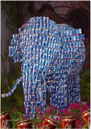 canned elephant