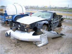 Corvette ZR1 after tornado 2