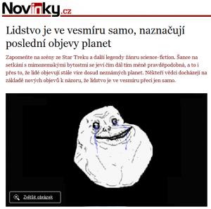 lidstvo samo