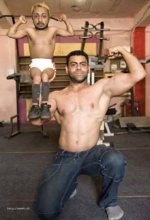 Shortest Bodybuilder in the World1